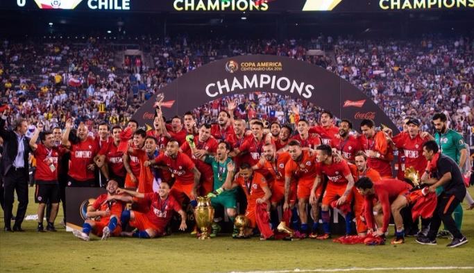 Amerika Kupası şampiyonu Şili