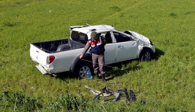 Ardahan'da trafik kazası: 1 ölü, 4 yaralı