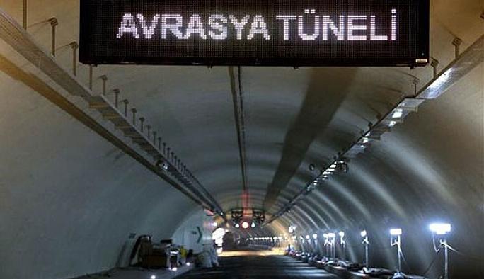 Avrasya Tünel'i geçiş ücreti belli oldu