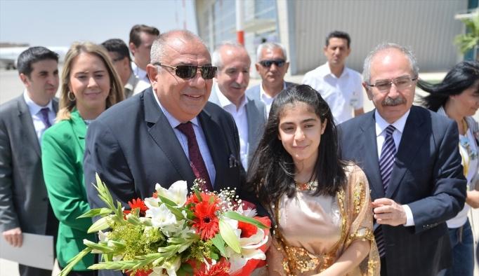 Başbakan Yardımcısı Türkeş, Mardin'de