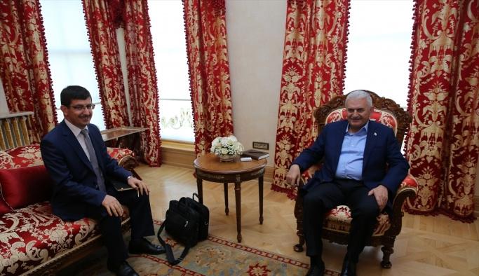Başbakan Yıldırım Borsa İstanbul Başkanı Karadağ'ı kabul etti