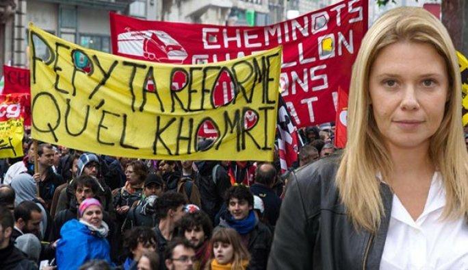 Batının özgürlüğü: Eylemleri destekleyen gazeteci kovuldu