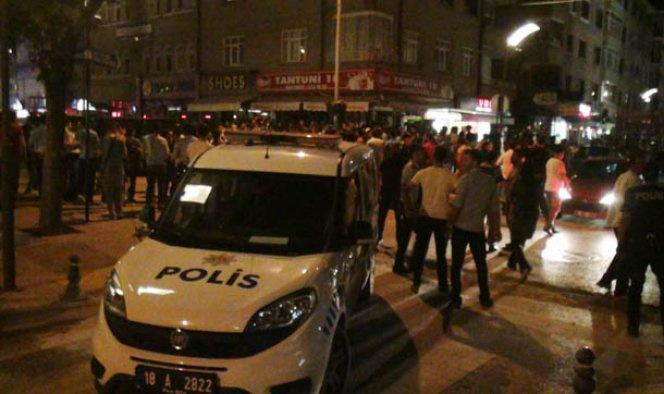 Çankırı'da PKK sempatizanı gerginliği