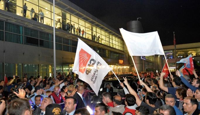 CHP Genel Başkanı Kılıçdaroğlu İstanbul'da