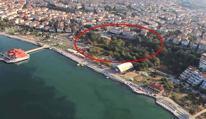 CHP'li belediye Albatros Parkı'nı imara açtırdı