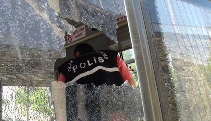 CHP, taş atan eylemciye 8 yıl hapis istedi