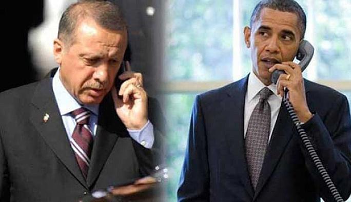 Erdoğan'dan Obama'ya taziye telefonu