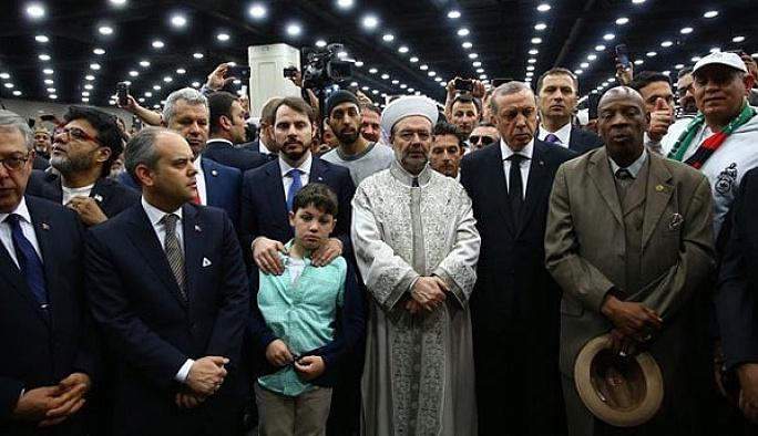 Erdoğan ikinci törene katılmadan dönüyor