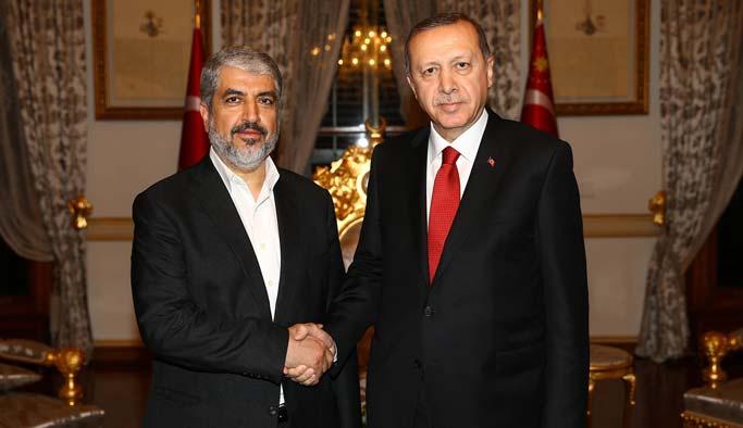Erdoğan ile Meşal Ankara'da görüştü