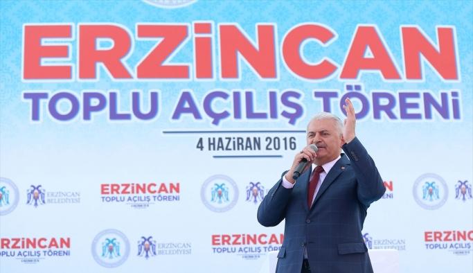 Erzincan toplu açılış töreni