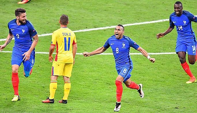 EURO 2016'nın ilk maçını Fransa kazandı