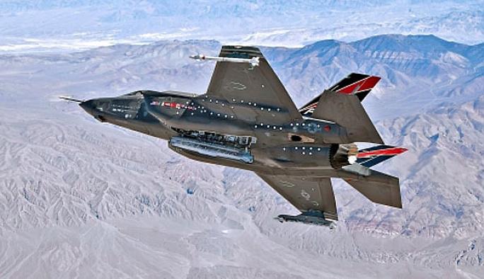 F-35'ler ilk test uçuşlarını yaptı