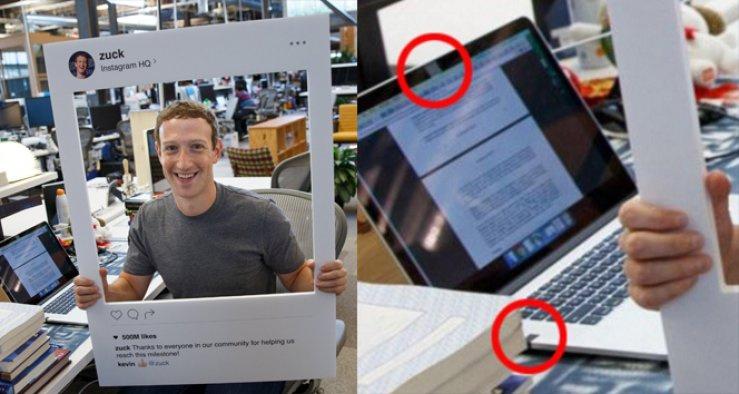 Facebook CEO'sundan hackerlara karşı 'bantlı' önlem