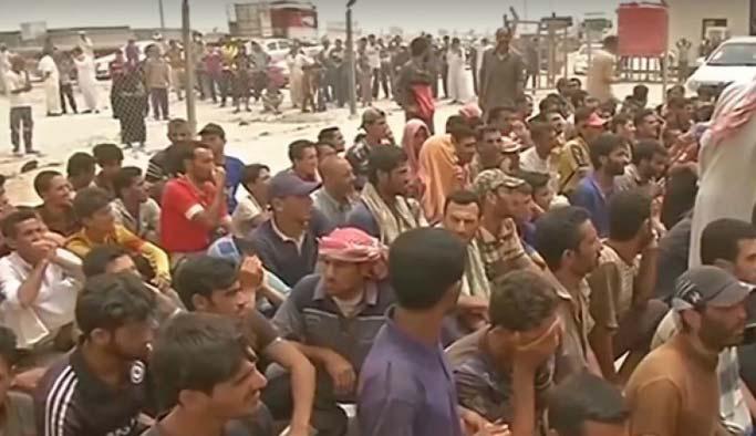 Felluce'de 15 bin kişi topluca gözaltında
