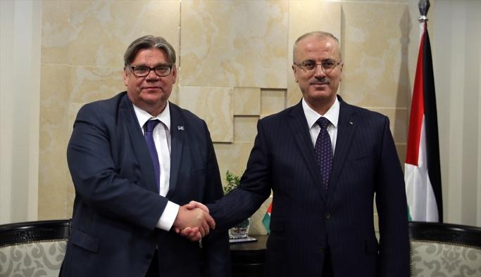 Finlandiya Dışişleri Bakanı Ramallah'ta