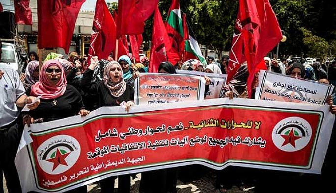 Gazze'de 'Siyasi bölünmüşlüğe son' eylemi