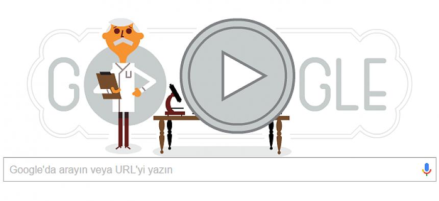 Google'dan Karl Landsteiner için doodle