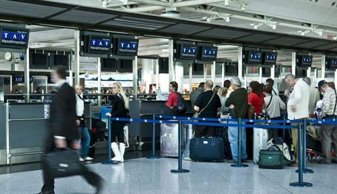 Hasta yolcu havalimanında öldü