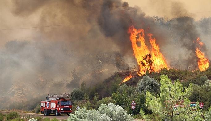 HDP Antalya yangınını 'Lice'yi yakıyorlar' diye verdi
