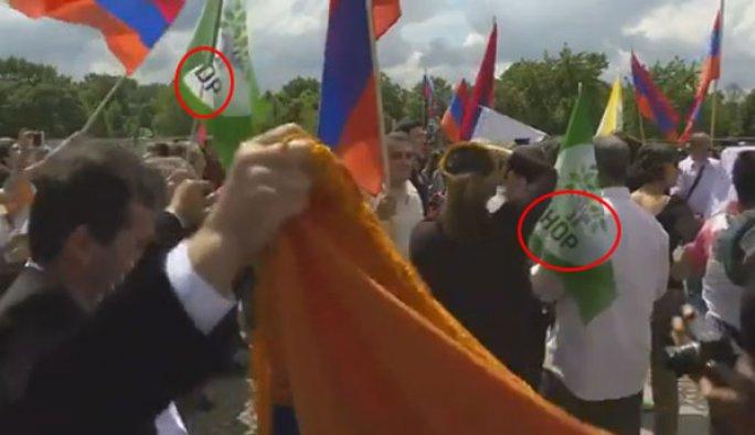 HDP'liler 'soykırım tasarısı' kutlamasında