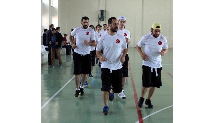 Inline Hokey Milli Takımı Yozgat'ta kampa girdi