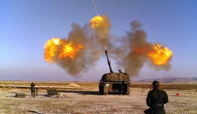 IŞİD bu kez roket atamadan vuruldu