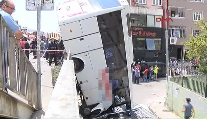 İstanbul E-5'te faciadan dönüldü