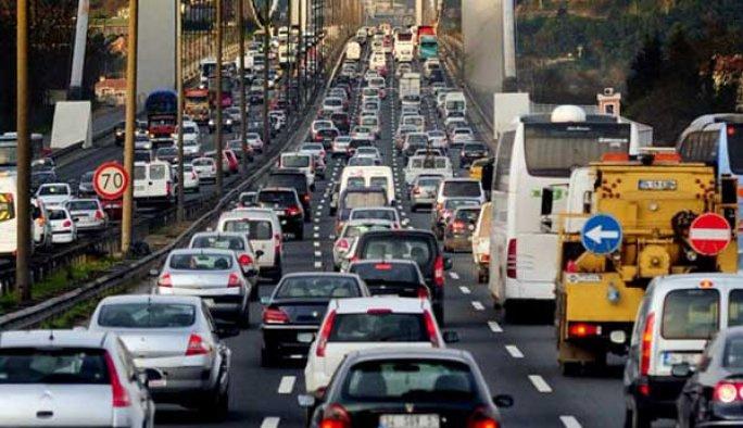 İstanbul trafiğinde 'yağış' yoğunluğu