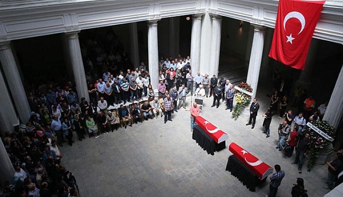 İstanbul Üniversitesi'nde cenaze töreni
