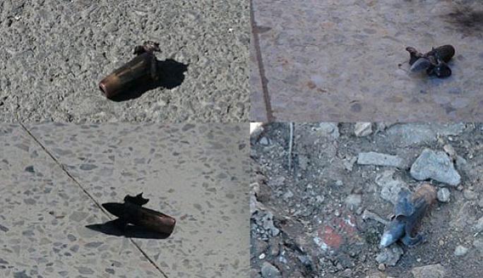 Kilis'e 33 adet uçaksavar mermisi düştü