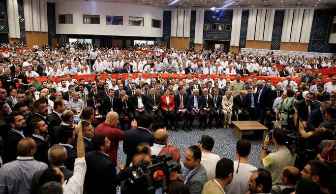 MHP: Kurultay geçersiz, yargıya bile gerek yok