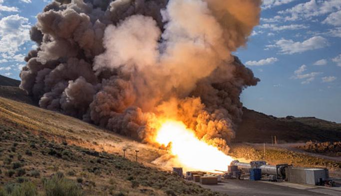 NASA'dan başarılı roket denemesi