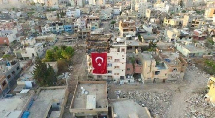 Nusaybin güne İstiklal Marşı'yla uyandı
