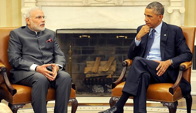 Obama, Modi'yi Beyaz Saray'da ağırladı