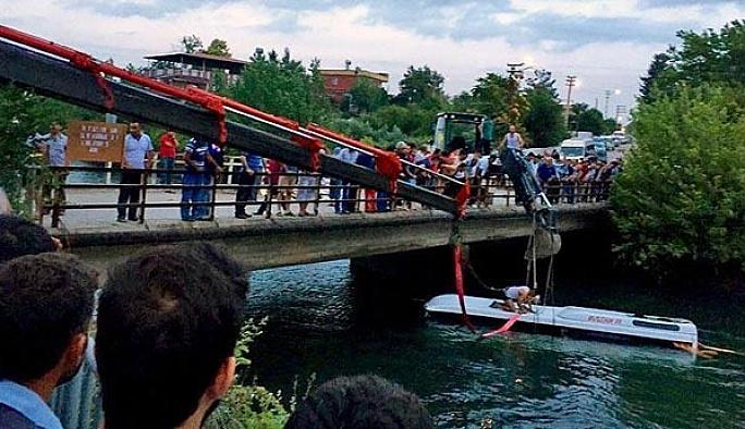 Osmaniye'deki otobüs kazasında 14 öğrenci öldü