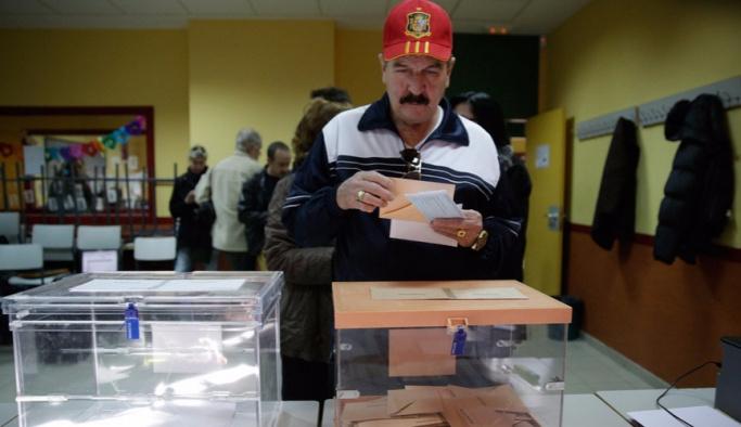 Parlamenter sistem mağduru İspanyollar sandık başında