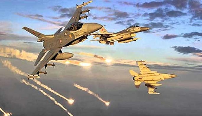 PKK'nın iki kampına hava harekâtı
