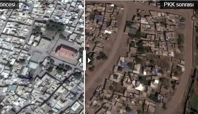 PKK öncesi ve sonrası Sur FOTO SLAYT