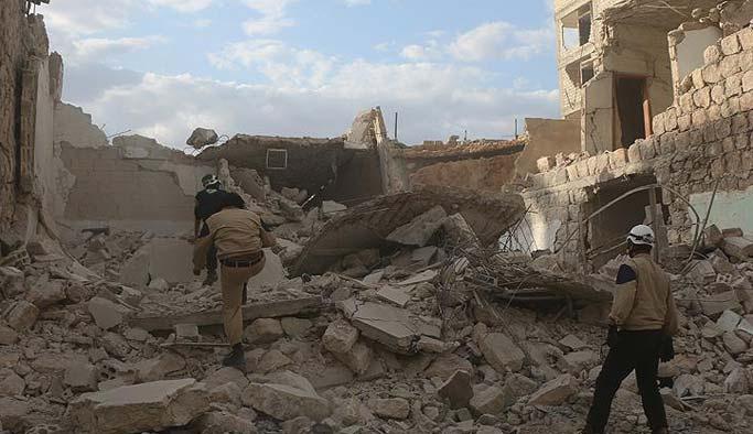 Rakka'ya misket bombaları yağdı: 10 ölü