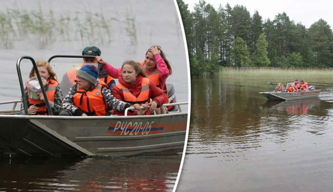 Rusya'da tekne faciası: 15 çocuk öldü