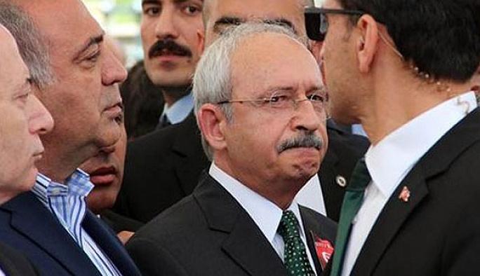 Şehit cenazesinde 'Kılıçdaroğlu' gerginliği
