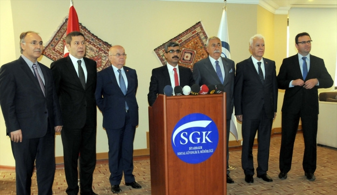 SGK Yönetim Kurulu Diyarbakır'da toplandı