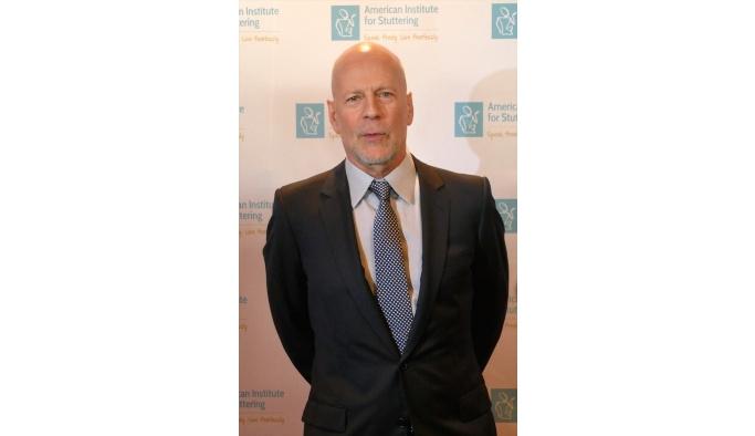 Sinema oyuncusu Bruce Willis'e