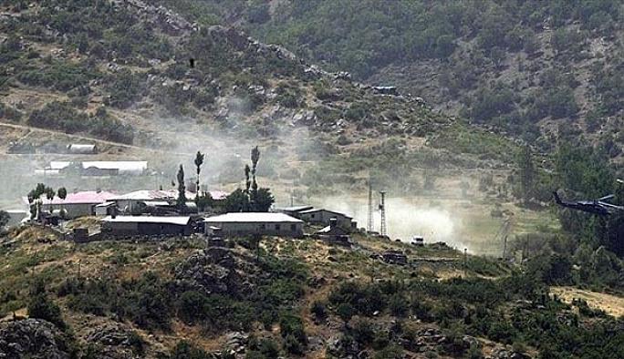 Şırnak'ta üs bölesine saldırı: Bir korucu şehit