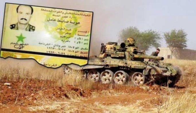 Suriye ordusundan bir general öldürüldü