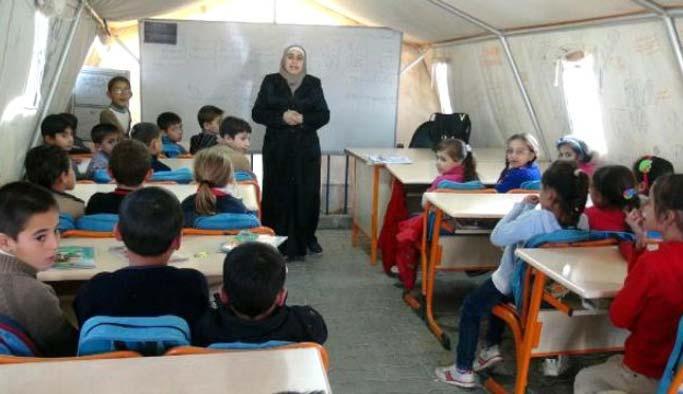 Suriyelilere izinsiz eğitime inceleme