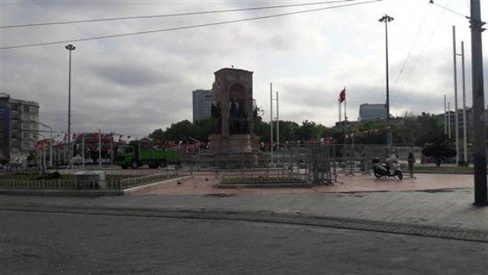 Taksim'de 'sapkın yürüyüşe' karşı önlemler