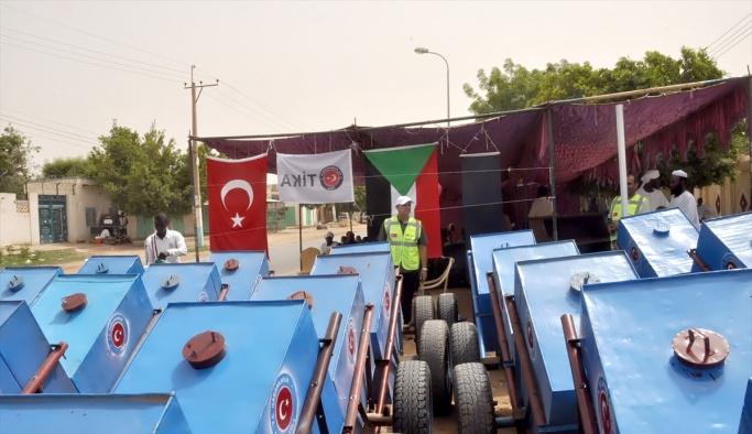 TİKA'dan Sudanlı yetimler için istihdam projesi