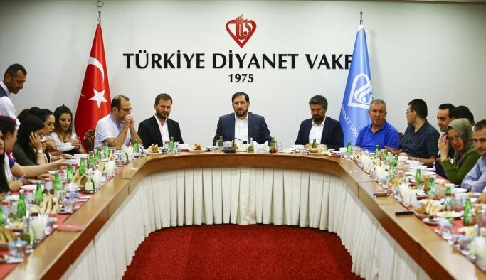Türkiye Diyanet Vakfı'ndan basın mensuplarına iftar