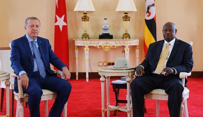 Türkiye ile Uganda arasında birçok alanda işbirliği